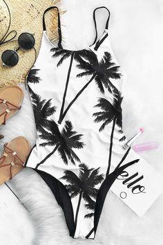 #AdoreWe #CupShe bikini❤️2017 Summer CupShe Swimsuits - Sweet Coconut Milk One-piece Swimsuit - AdoreWe.com