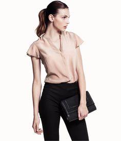 Women'S Short Sleeve Blouses For Work | Fashion Ql