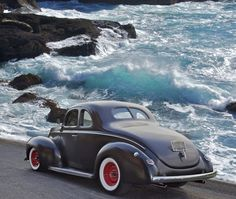 1940 Ford coupe, real old school hot rod...