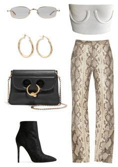 """Untitled #2155"" by kellawear ❤ liked on Polyvore featuring Zeynep Arçay, Baldwin and J.W. Anderson"