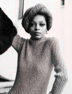 Diana Ross  #bbms #blackbymariasilver #icon #dianaross #turban #fashion #makeup #muse #beauty