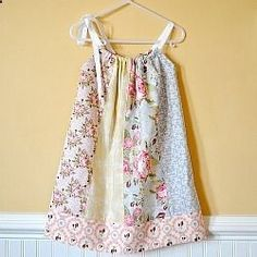 all sorts of tutorials for little girls dresses and such, aprons, bags...