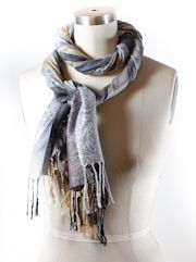 The Knot Library - 50+ ways to tie a scarf -- includes video instructions in addition to written instructions. Great website! http://www.scarves.net/scarf-tying-index.html