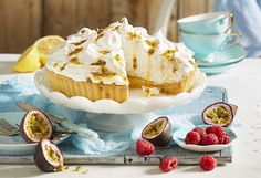 This pie features silky, yolky lemon curd filling and a light marshmallow meringue top. Everyone will want a slice! It features a delish lemon curd recipe, too!