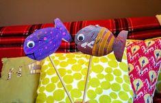 Tuvalet Kağıdı Rulosu ile Balık - Çocuklar için Aktivite