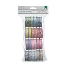 American Crafts - 24 Rolls of Brightly Colored Bakers Twine (2x12 Colors Value Pack)