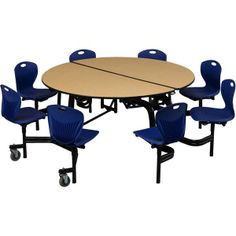 Round Mobile Chair Cafeteria Tables at SCHOOLSin  sc 1 st  Pinterest & school cafeteria design | Interior Design by Kenneth Cruz at ... islam-shia.org