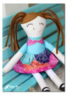 Ruby Lou Doll Pattern review