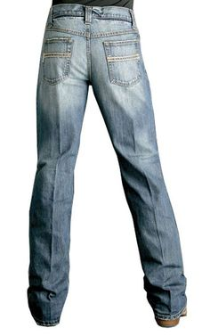 - Medium Stonewash - 13.25 ounce Denim - Relaxed Waist and Hip - Mid Rise…