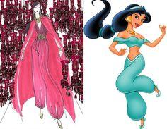 Estilistas fazem novas versões para vestidos das princesas da Disney! <3 - Radar Fashion - CAPRICHO