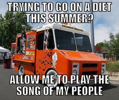 Scumbag ice cream truck…