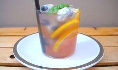 limonata alla lavanda con mirtilli in ghiaccio   UNO cookbook