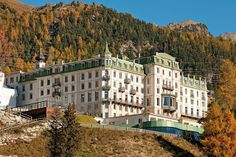 Grand Hotel Kronenhof Pontresina, via Flickr Grand Hotel, European Travel, Switzerland, Hotels, Around The Worlds, Exterior, Photo And Video, Mansions, Portrait