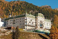 Grand Hotel Kronenhof Pontresina, via Flickr Grand Hotel, European Travel, Switzerland, Around The Worlds, Hotels, Exterior, Photo And Video, Mansions, Portrait