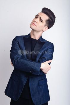 Brendon Urie of Panic! At The Disco photographed in Studio City, CA on March 17, 2016. Photo © Kevin Estrada / MediaPunch