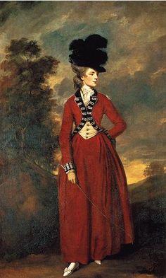 Seyomour Dorothy Fleming, Lady Worsley, 1776 (Sir Joshua Reynolds) (1723-1792)  Harewood House, Yorkshire