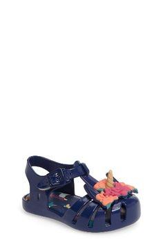 6289f08770ed Mini Melissa Aranha Fabula Unicorn Sandal (Walker   Toddler)