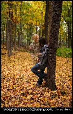 beautiful military pregnancy photo!!