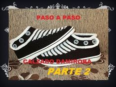BOTIN JUVENIL CROCHET PASO 2  ASEMEJANDO DISEÑO DE LA WEB - YouTube Crochet Baby Sweater Pattern, Crochet Skirt Pattern, Baby Sweater Patterns, Crochet Boot Socks, Crochet Slippers, Baby Girl Beanies, How To Make Shoes, Crochet Videos, Google