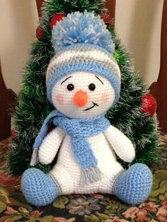 Crochet Patterns Snowman Crochet Pattern – CK Crafts - Claire C. Crochet Patterns Snowman Crochet Pattern – CK Crafts - Always aspired to discove. Crochet Snowman, Christmas Crochet Patterns, Holiday Crochet, Crochet Toys Patterns, Stuffed Toys Patterns, Blanket Patterns, Amigurumi Patterns, Pdf Patterns, Christmas Knitting