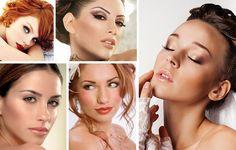 Trucco sposa 2016: Make up per donne dai capelli rossi e castani, Make up nuziale 2016, Trucco nuziale 2016