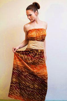 Kleid Shobana Maxikleid  von rote-tulpe auf DaWanda.com