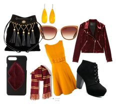 """""""Autumn day party"""" by anne-lise-knoph on Polyvore featuring BLANKNYC, Prada, Barton Perreira, Kendall + Kylie, Miu Miu, Michael Kanners and polyvorefashion"""