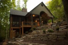 Bryson City Vacation Rental - VRBO 422667 - 2 BR Smoky Mountains Cabin in NC, Luxury Creekside Retreat Hot Tub Gameroom 2 Fireplaces N.O.C. ...