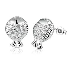 OUBEY Silver Earrings For Women Silver Earrings * More info could be found at the image url. Note:It is Affiliate Link to Amazon.