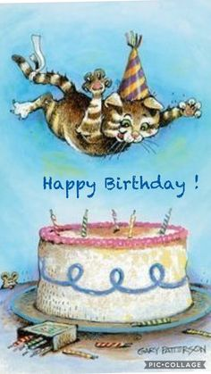 Happy Birthday to You.Happy Birthday to You.Happy Birthday to YOU Happy Birthday Cat Images, Happy Birthday Messages, Happy Birthday Quotes, Cat Birthday, Happy Birthday Greetings, Birthday Pictures, Birthday Memes, Happy Birthday Animals, Birthday Clipart