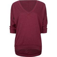 FULL TILT Essential Womens Sweatshirt ($18) ❤ liked on Polyvore