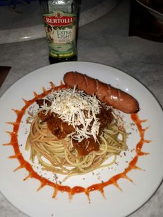 Spaghetti bolognese ala rumahan