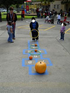 fall festival game idea