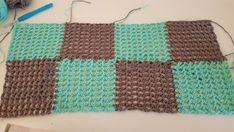 Plaid summer sweater row 2 Crochet Poncho, Crochet Top, Summer Sweaters, Free Pattern, Crochet Patterns, Plaid, Blanket, Models, Blouses