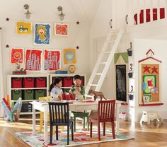 awesome playroom/bedroom