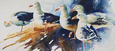 Denise Joy McFadden, watercolor art