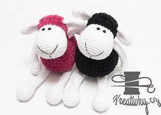 Háčkovaná ovečka – NÁVODY NA HÁČKOVÁNÍ Crochet Toys, Knit Crochet, Nursing Home Gifts, Knitting Patterns, Crochet Patterns, Owl Hat, Softies, Doll Toys, Christmas Tree Ornaments