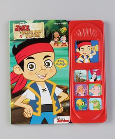 Love this Jake and the Never Land Pirates Sound Board Book by Jake and the Never Land Pirates on #zulily! #zulilyfinds