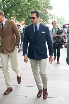 Model David Gandy wearing Dior sunglasses on day 1 of London Collections Men on June 10 2016 in London England