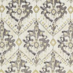 Duralee 42458-240 GOLD/SILVER Fabric