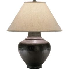 Buy the Robert Abbey Antique Rust Direct. Shop for the Robert Abbey Antique Rust Foundry Vase Table Lamp with a Translucent Flax Shade and save. Black Table Lamps, Table Lamp Base, Lamp Bases, Light Table, Robert Abbey Lighting, Traditional Table Lamps, Ceramic Table Lamps, Fabric Shades, One Light