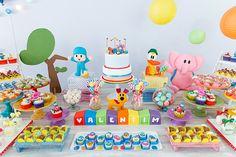 Festa infantil com tema Pocoyo - Constance Zahn | Babies & Kids