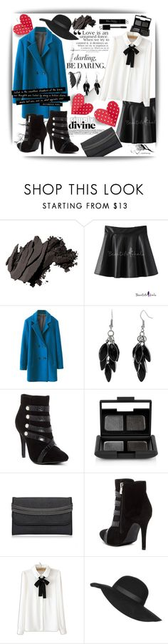 """""""Beautifulhalo!"""" by ina-kis ❤ liked on Polyvore featuring Bobbi Brown Cosmetics, Aime, Alexa Starr, Bucco, NARS Cosmetics, WithChic, Topshop, Stephen Webster, women's clothing and women"""