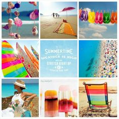 Summertime. #Moodboards #Mosaic #Collage by Jeetje♡