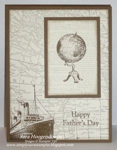 Happy Father's Day or Birthday :) by shoogendoorn - Cards and Paper Crafts at Splitcoaststampers