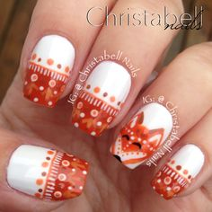 ChristabellNails Fox Nails Tutorial