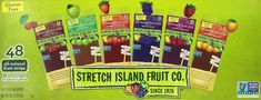 Stretch Island Fruit Leather Variety Pack 48-Count, 0.5-Ounce Package | I usually race/train with apple-sauce or baby food squeeze pouches, but these are the winter alternative. Wore them in a pouch on my hip. Worked well.