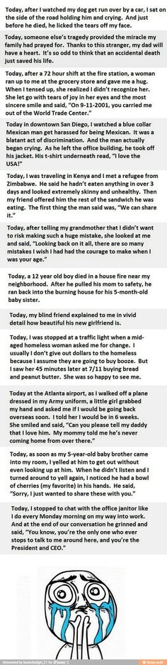 Faith in humanity restored. I love reading these. They're awesome and make me smile every time :) I hope someday I can do something like this.