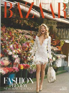 Harpers Bazaar magazine Kate Hudson Susan Downey Spring fashion Hot accessories
