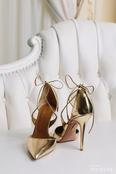 Aquazzura Collection | Love, Balmain: An Ode to Olivier Rousteing's Opulent Designs for the Fashion House | WedLuxe